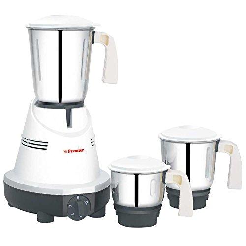 Premier Mixer Grinder Cute (plus) KM 512 230V,550W- ( L x B x H) 30 x 20 x 31, White )