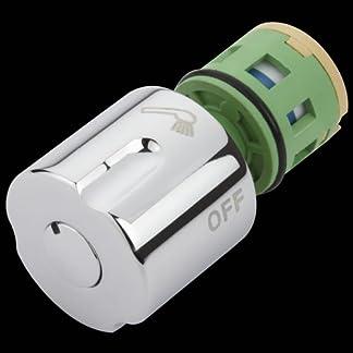 Hudson Reed Nuevo Conjunto Cartucho Reemplazo Recambio para Llave Válvula Grifo Ducha de Barra con Desviador Modelo Infinity y Tiamo