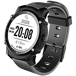 Rastreador de GPS de la supervisión del Ritmo cardíaco de la Prenda Impermeable del Reloj Elegante IP68 de FS08 Bluetooth