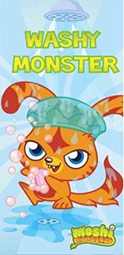 Ufficiale con licenza bambini Moshi Monster nuoto/doccia telo mare.