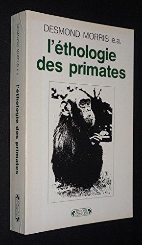 L'éthologie des primates