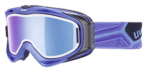 UVEX, Maschera da sci G.Gl 300, Blu (Cobalt Met Mat), Taglia unica