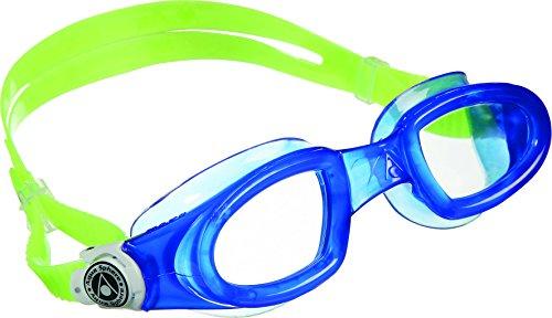 Aqua Sphere Mako, Occhialino/Maske Schwimmen Unisex-Adulto Einheitsgröße Blu/Bianco/Lime