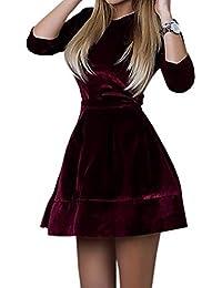 26470426aead Amazon.it  Maniche Tre Quarti - S   Vestiti   Donna  Abbigliamento