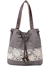 Paradox Women's Retro Casual Printing Canvas Hand Shoulder Messenger Bags