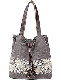 9396b3f7615c Paradox Women s Retro Casual Printing Canvas Hand Shoulder Messenger Bags