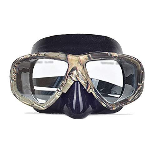 ERTO Masque de Plongee Masque De PlongéE en ApnéE PlongéE Lunettes De Natation PlongéE Professionnelle en ApnéE Adultes