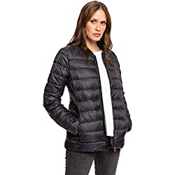 Roxy Endless Dreaming-Chaqueta Aislante Comprimible para Mujer Impermeable, True Black, XS