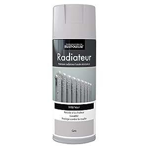 Rust-Oleum AE0440400FR Radiateur Peinture aspect vintage Gris Clair