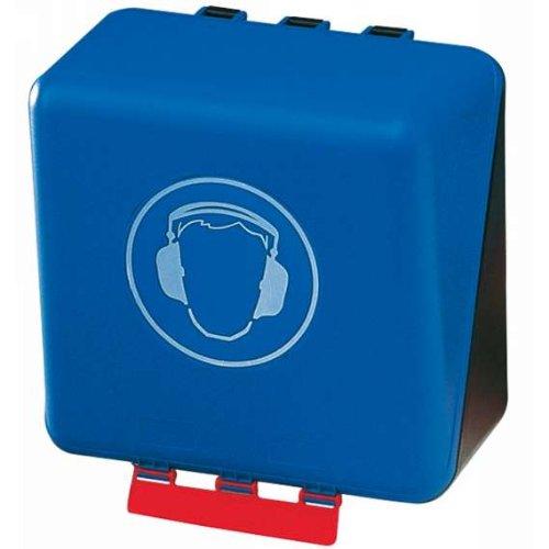 """SecuBox Midi blau \""""Gehörschutz\"""" - Aufbewahrung für PSA"""