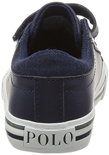 Ralph Lauren Jungen Harrison Ez Low-Top Blau (navy tumbled W Cream Pop)