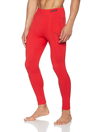 Jako Herren Long Tight Comfort Freizeit-und Jogginghose Lang rot