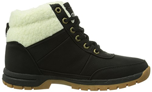 Kappa BRIGHT MID FUR T Footwear Teens Synthetic Unisex-Kinder Hohe Sneakers Schwarz (1143 black/offwhite)