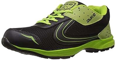 Duke Men's Black Mesh Running Shoes -6 UK/India (40 EU)(7 US)