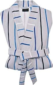S.oliver peignoir de bain pour homme à rayures taille 54-56 (modèle 3541-kimono)