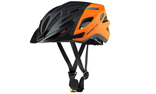 KTM BIKE Fahrrad MTB Helm - FACTORY LINE 2018 - Gr. 54-58 - Orange/Schwarz - Matt (8-001)