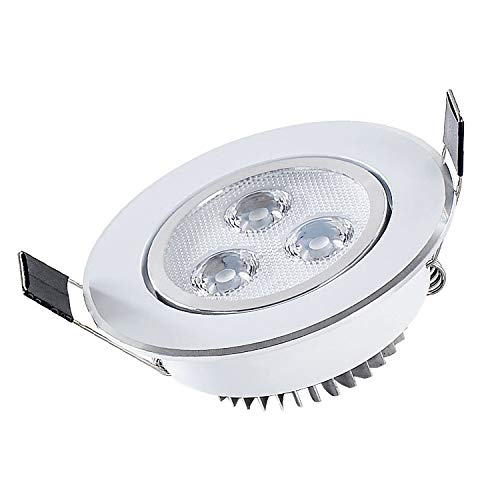 Embedded Spotlight Aluminum Alloy LED Lamp Lighting Fittings Bedroom Clothing Store Living Room Modern Fashion Energy-saving Spotlight,24 v,18w
