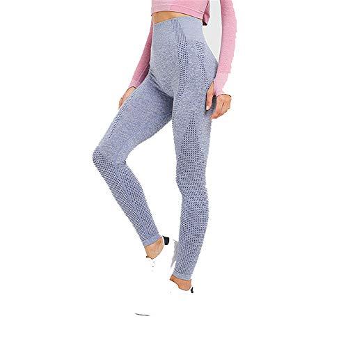 Frauen Stricken Am Bund (Adaym Hose Yogahose Damen Sport-Leggings Jogginghose Strumpfhose Leggins Hose Strumpfhose Schwarz Workout Stretch High Elastic Yoga Hosen Pants)