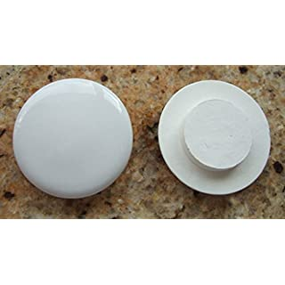 Astracast Ceramic sink tap hole blank.