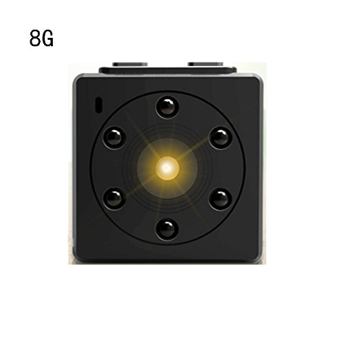 Xgffx Mini Camera Mini Smart Camera Million High-Definition Infrared Night  Vision Mobile Phone Remote Monitoring Anti-Being Recorded Facts Side Charge