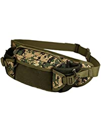 Magideal Outdoor Travel Hiking Camping Multiple Pockets Adjustable Strap Mini Waist Pack Utility Pouch Belt Bag... - B072KCLJCL