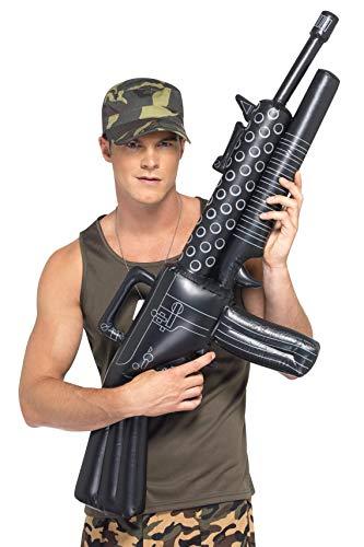 (Aufblasbares Maschinengewehr 112cm, One Size)