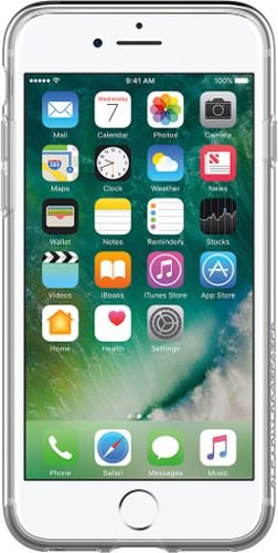 OtterBox clearly Protected Skin, Extra Slim Silikon Schutzhülle für iPhone 7/8, transparent (Klar, Otter Box Case)