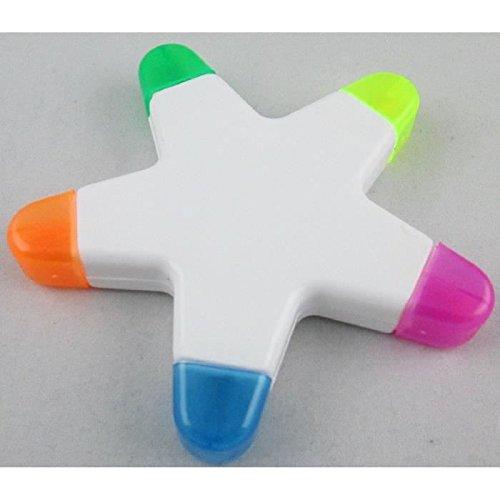 Stabilo - Stifte in Sternbehälter, 5 Farben