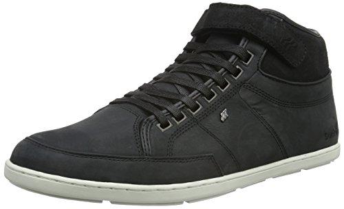Boxfresh Herren Swich Blok Uh Lea/Wxd Sde High-Top Schwarz (Black)