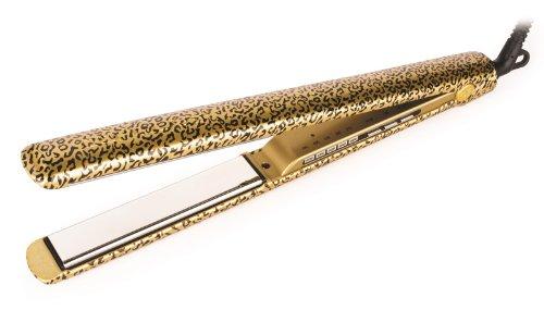 Corioliss C3 - Plancha de pelo, placas de titanio pulido, color leopardo
