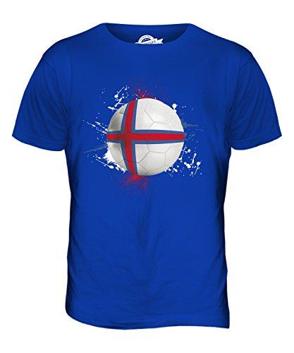 CandyMix Färöer Fußball Herren T Shirt Königsblau