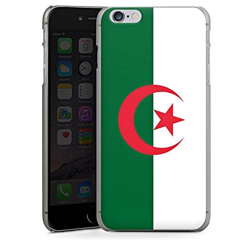 Apple iPhone 6 Housse Étui Silicone Coque Protection Algérie Drapeau Ballon de football CasDur anthracite clair