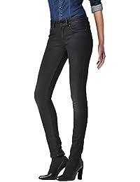 G-Star Damen Jeans 3301 Contour Damen High Waist Skinny Jeans - Blau - Dark Aged, Größe:W 33 L 28;Farbe:Dark Aged (89)
