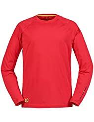 2016 Musto Evolution Sunblock Long Sleeve T-Shirt True Red SE1550