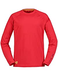 Musto 2016 Evolution Sunblock Long Sleeve T-Shirt True Red SE1550