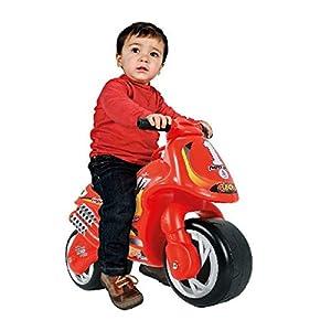INJUSA Foot to Floor Color Rojo Correpasillos Neox para Niños a Partir de 18 Meses, 67.1 x 66.5 x 49.5 (190/000)