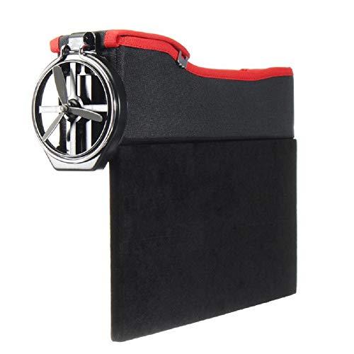 2Pcs Storage Box Car Organizer Seat Gap PU Leder Fall Pocket Car Seat Side Slit für Wallet-Kostüme Cigarette Keys Cards Cup,1,2Pcs (Sache 1 Kostüm Baby)