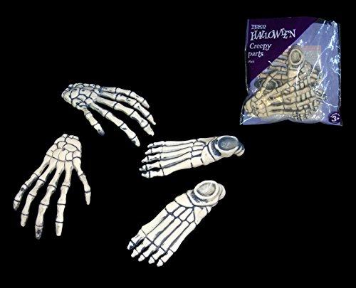 creature-di-halloween-creepy-parts-mani-e-piedi-di-scheletro-ossa-4-pezzi