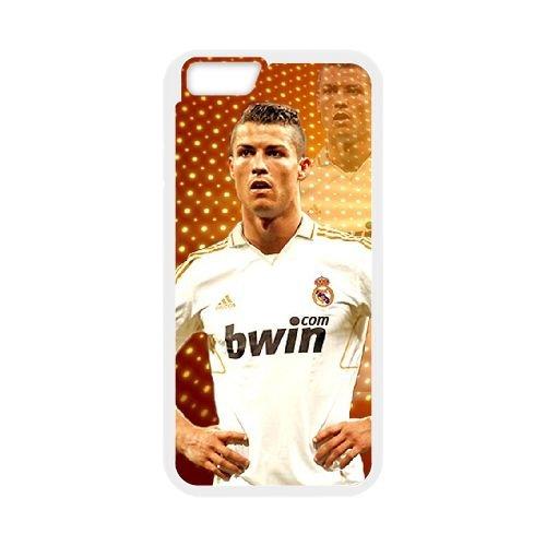 Cristiano Ronaldo coque iPhone 6 4.7 Inch Housse Blanc téléphone portable couverture de cas coque EBDXJKNBO16290