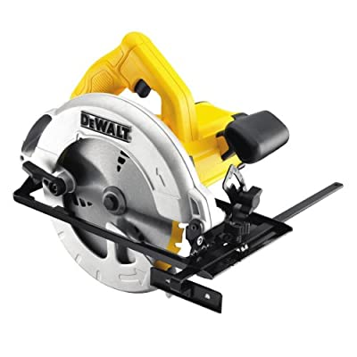 DeWalt 110V 184mm 65mm Compact Circular Saw in Kitbox