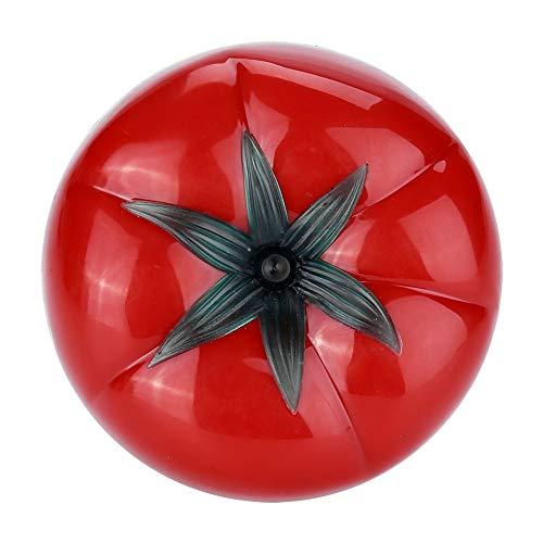 MAGT Tomaten Mechanische Küche Timer, 60 Minuten 360 Grad Cartoon Timer, Küche Ring Alarm Tool, Ideal Zum Kochen Backen Sport Spiele Büro (Rot) (Größe : 6.3 x 4.5cm) - Ring-küchen-timer