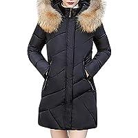 TWBB Damen Winterjacke Hoodie Winddicht Wintermantel Einfarbig Daunenjacke Jacke Outwear Frauen Winter Warm Daunenmantel... preisvergleich bei billige-tabletten.eu