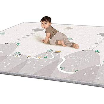blanketswarm enfants tapis de jeu b b ramper tapis pour 12 36 mois non toxique paisseur 1 cm. Black Bedroom Furniture Sets. Home Design Ideas