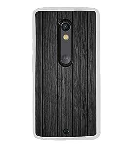 Wooden Pattern 2D Hard Polycarbonate Designer Back Case Cover for Motorola Moto X Play