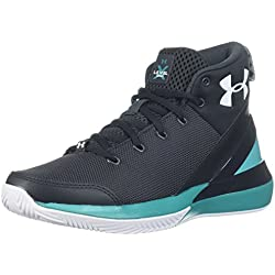 Under Armour UA BGS X Level Ninja, Zapatos de Baloncesto para Niños, Negro (Anthracite 104), 38.5 EU