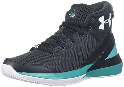 Under Armour UA Bgs X Level Ninja, Scarpe da Basket Bambino, Nero (Anthracite 104), 38.5 EU