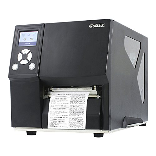 Thermodrucker Thermodirektdrucker Etikettendrucker Godex ZX430i 300 dpi Modell mit Abreißkante mittig geführt LAN