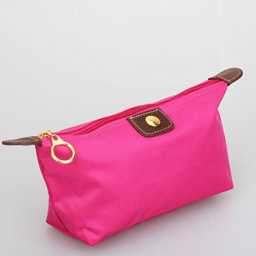 Mefly Nuovo Trucco Include Sacchetto Impermeabile Alla Moda Sacchetto Cosmetico Rose Red Rose red
