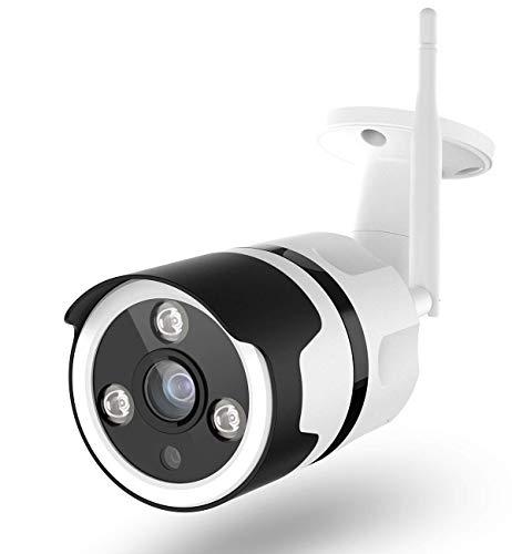 Caméra Surveillance WiFi Extérieur, Netvue Full HD 1080P Caméra de Sécurité Compatible avec Alexa,...