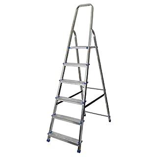 Abbey Aluminium Platform Step Ladder 6 Tread